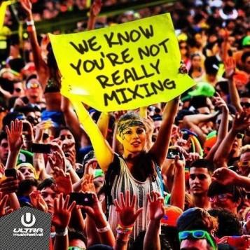 DJ not mixing